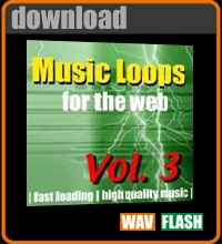 Flash Music for Web Design